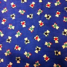 Blue Teddies Corduroy Fabric